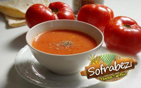 Domates Çorbası - Sofra Bezi   Yemek Tarifleri   Kek Tarifleri   Resimli Tarifler