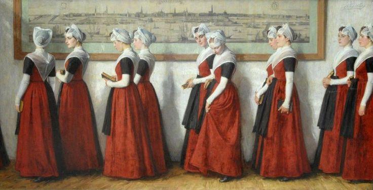 Het oorspronkelijke Burgerweeshuis, uit 1520, nam onder de andere Amsterdamse liefdadigheidsinstellingen een bijzondere plaats in. Het was uitsluitend bestemd voor kinderen van Amsterdamse poorters. Vondelingen en kinderen van arme mensen werden dus niet opgenomen.