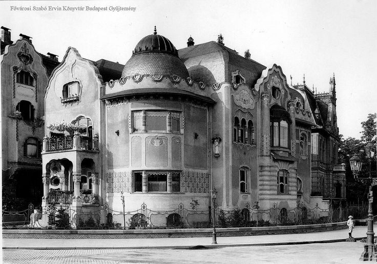 6. kerület. Dózsa György út 92-b. Babochay-villa | by foglall50