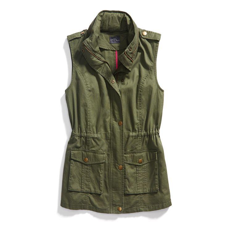 Stitch Fix Spring Outerwear: Cargo Vest