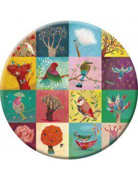 """Miroir de poche """"Birds"""""""