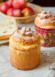 Пасхальный кулич - Пошаговый рецепт с фото | Выпечка | Вкусный блог - рецепты под настроение