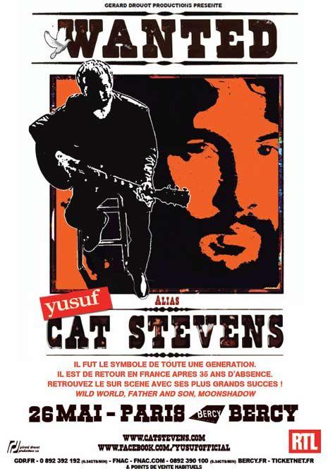 Cat Stevens Tour Schedule