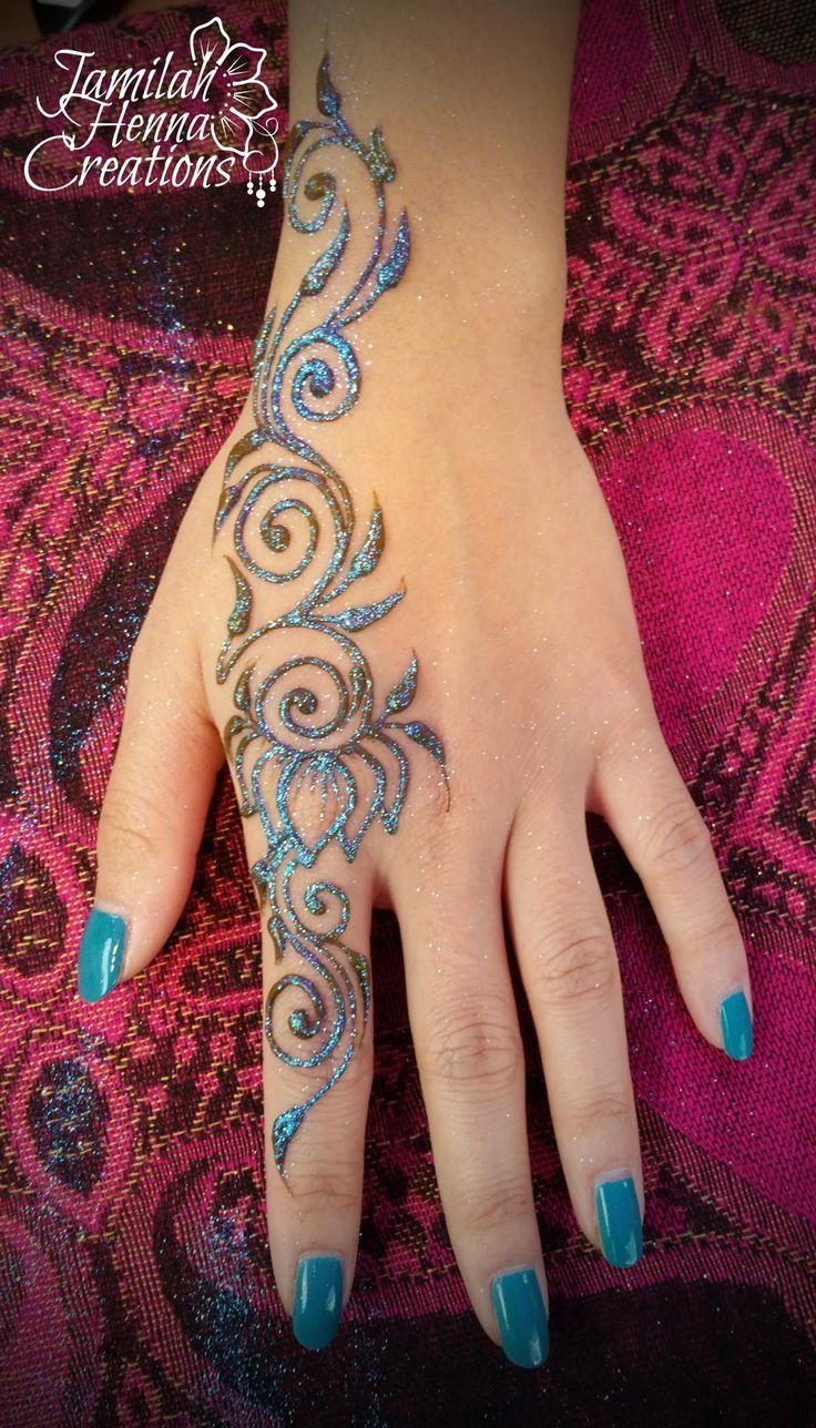 White henna design 5 five white henna designs - Balloon Fest Henna Www Jamilahhennacreations Com Homemade Tattoospastel Tattootattoo Fingerwhite