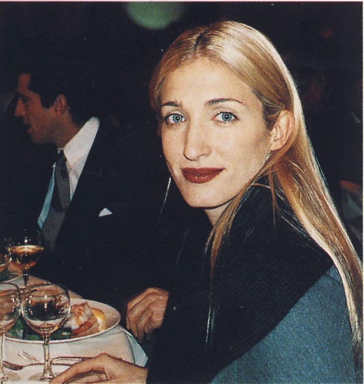 Carolyn Bessette-Kennedy at the 1998 Foreign Policy Dinner                                                                                                                                                                                 More