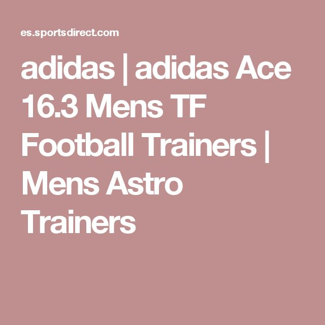 adidas | adidas Ace 16.3 Mens TF Football Trainers | Mens Astro Trainers