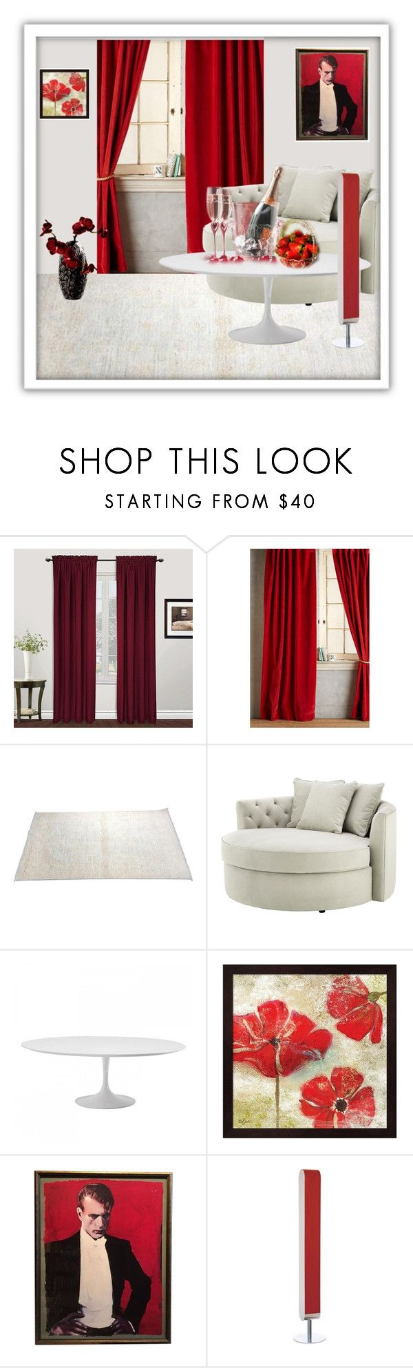 """""""Breakfast of the aristocrat"""" by m-kints ❤ liked on Polyvore featuring interior, interiors, interior design, home, home decor, interior decorating, United Curtain, Anthropologie, Eichholtz and LZF"""