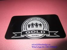Metal Card, Metal Card direct from Cangnan Lihao Badge Co., Ltd. in China (Mainland)