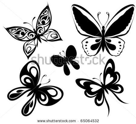 Statement Bag - Black & White Butterflies by VIDA VIDA ctJll1