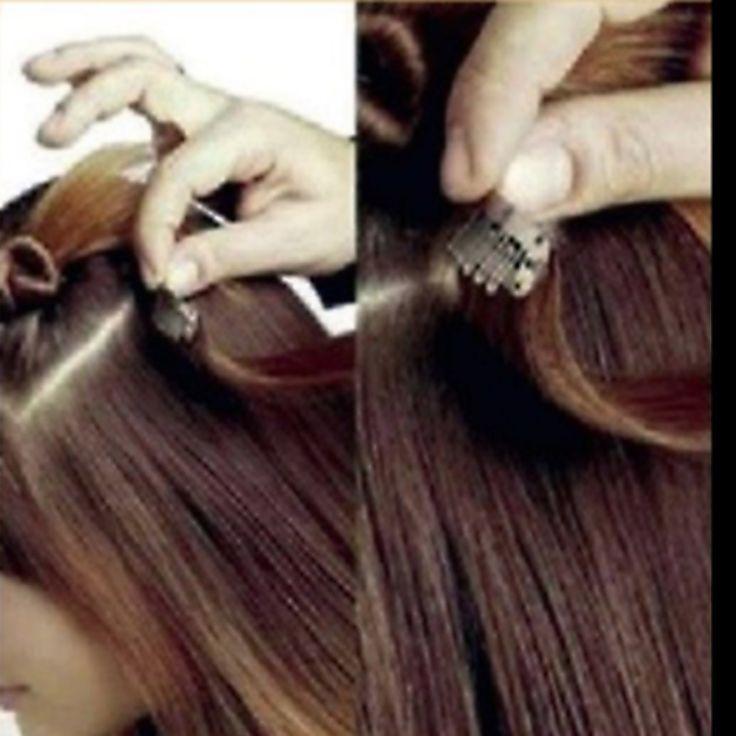 12 Best Hair Extensions Images On Pinterest Lounges Salon