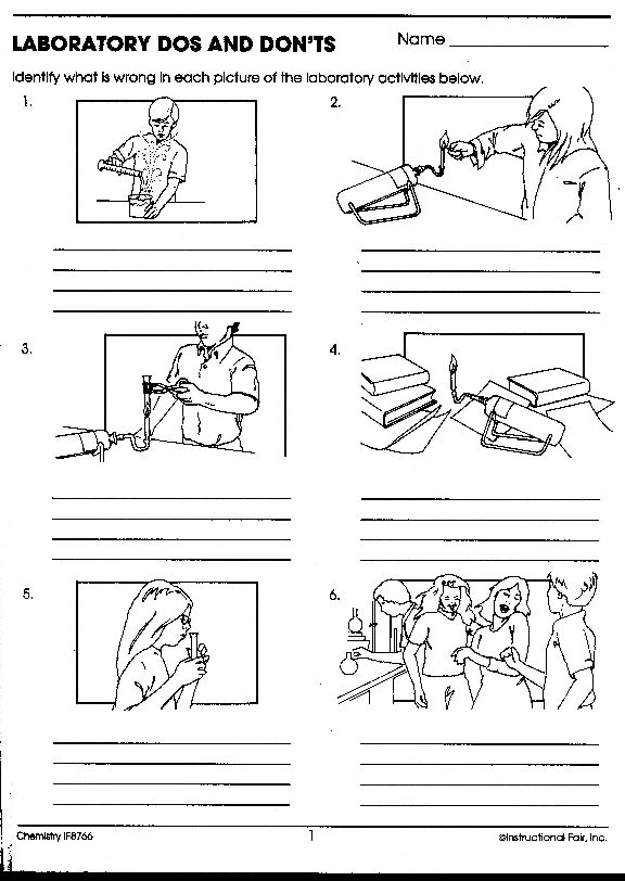 132 best Safety in the Science lab images on Pinterest | School ...