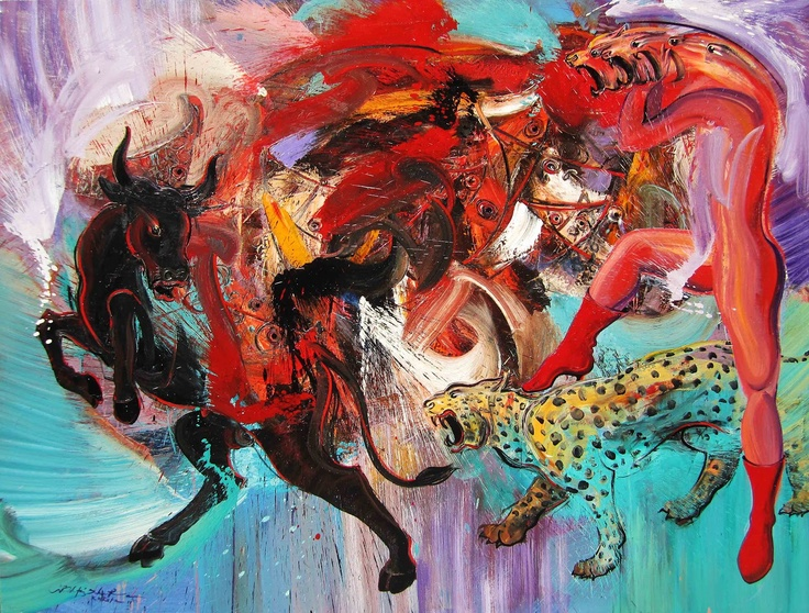 Role Play, by contemporary Indonesian artist I Made Toris Mahendra