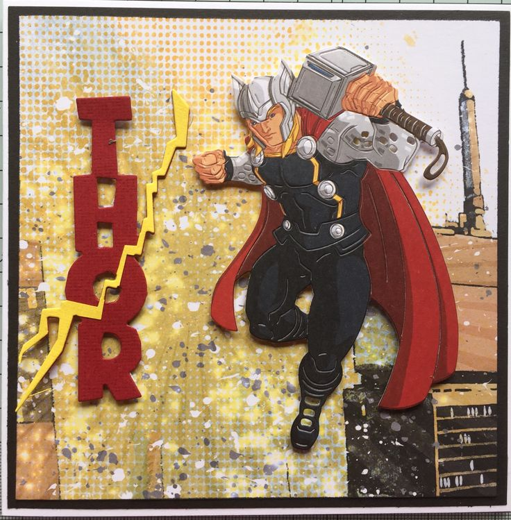 Marvel by Create and Craft: Thor