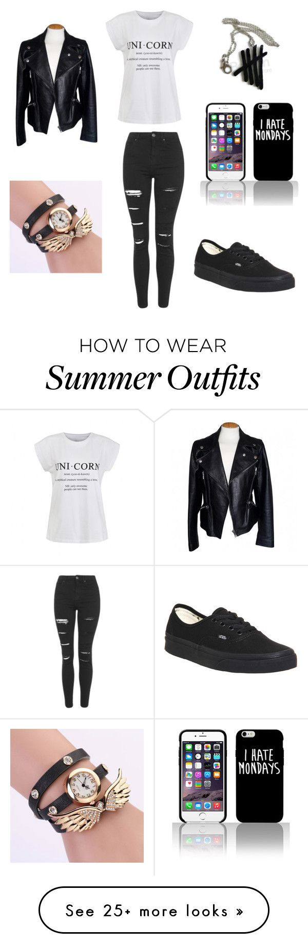 """Everyday outfit"" by myarogers2002 on Polyvore featuring Topshop, Ally Fashion, Vans, Alexander McQueen, women's clothing, women's fashion, women, female, woman and misses"