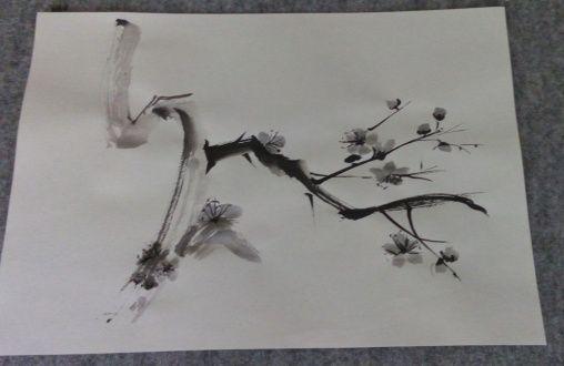 Japon Sanat Merkezi Sumi-e Çalışmaları / Semin Mirgün Sumi-e