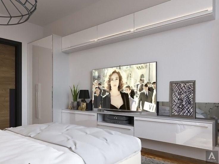 дизайн дома в современном стиле/ дизайн спальной