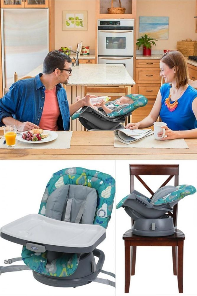 ICYMI: Baby High Chair 3 In 1 Toddler Infant Cradle Kids Booster Seat Feeding Highchair