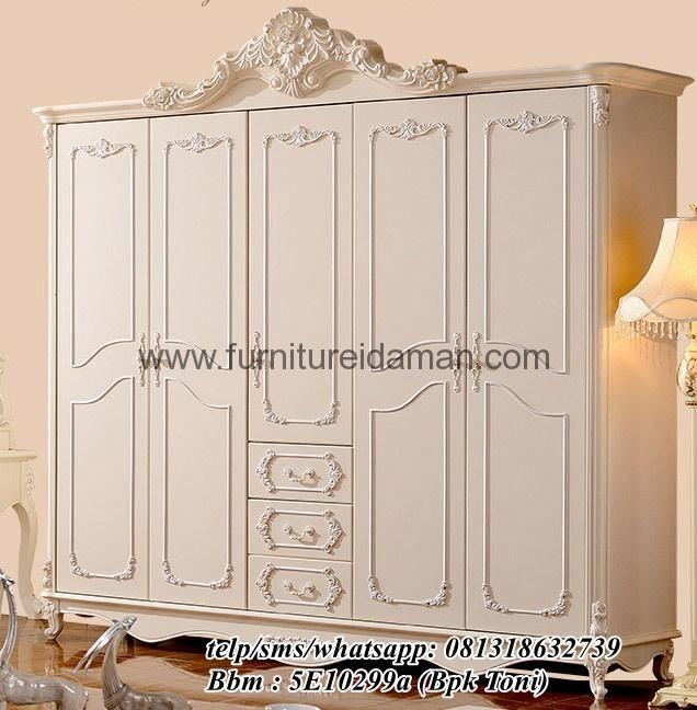 Lemari Pakaian Mewah Minimalis Putih Ducofurnture ini wajib anda miliki dengan desain mewah yang akan membuat tampilan interior rumah anda semakin premium