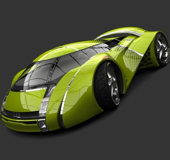Car of the future - UBO Concept Car