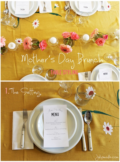 17 best images about mother 39 s day decor on pinterest for Table 52 mother s day brunch