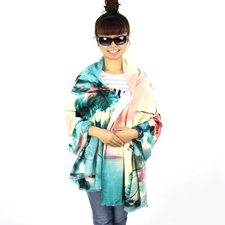 BFDADI 2016 Scarves Soft Long Shawls 175*70cm Fashion Winter Scarves Women Print Designer Scarves Wholesale Free Shipping