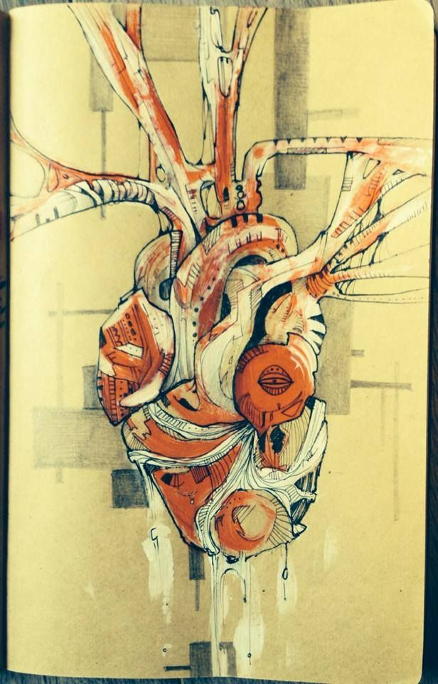 Schizzo cuore