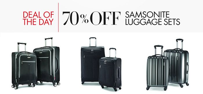 Luggage Sale On Amazon 70% OFF! - http://www.rakinginthesavings.com/luggage-sale-on-amazon-70-off/