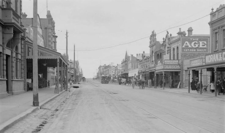 Northcote, High Street. Early 1900s