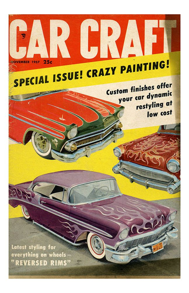 113 best hot rods kustoms covers images on pinterest hot for Car craft magazine back issues