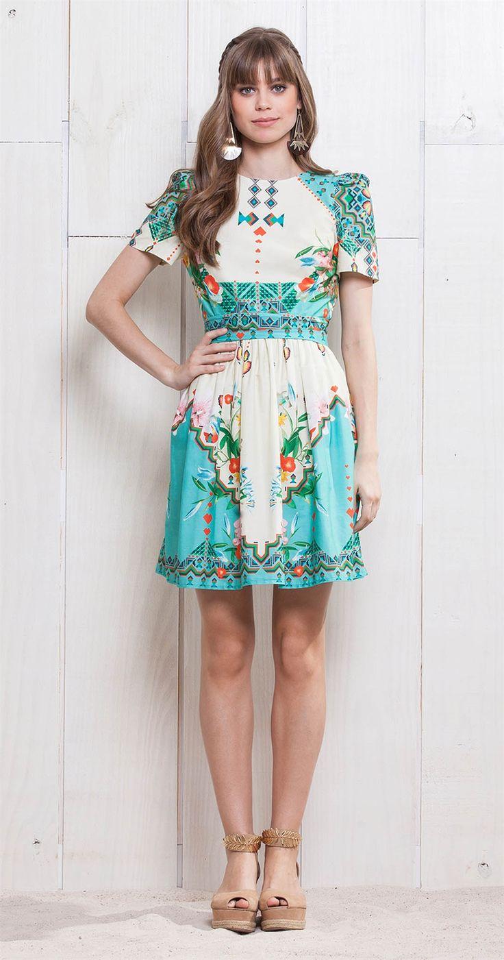 Vestido Lírios e Colírios | Lookbook | Antix Store
