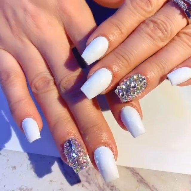 Fabulous Wedding Nail Designs 2019 - Nail Designs for
