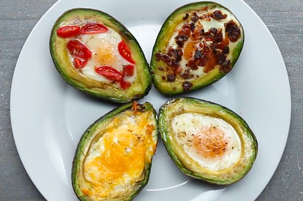 Here's a video showing you how to make them: | These Baked Avocado Eggs Are Literally The Most Perfect Breakfast Ever
