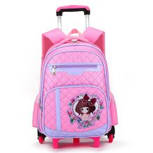 Children School Bags Removable With 6 Wheels Stairs Laptop Backpack For Business Travel Trolley Schoolbag Luggage Book Bags //FREE Shipping Worldwide //