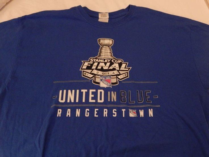 New York Rangers 2014 Stanley Cup Final SGA T Shirt Size XL #NewYorkRangers