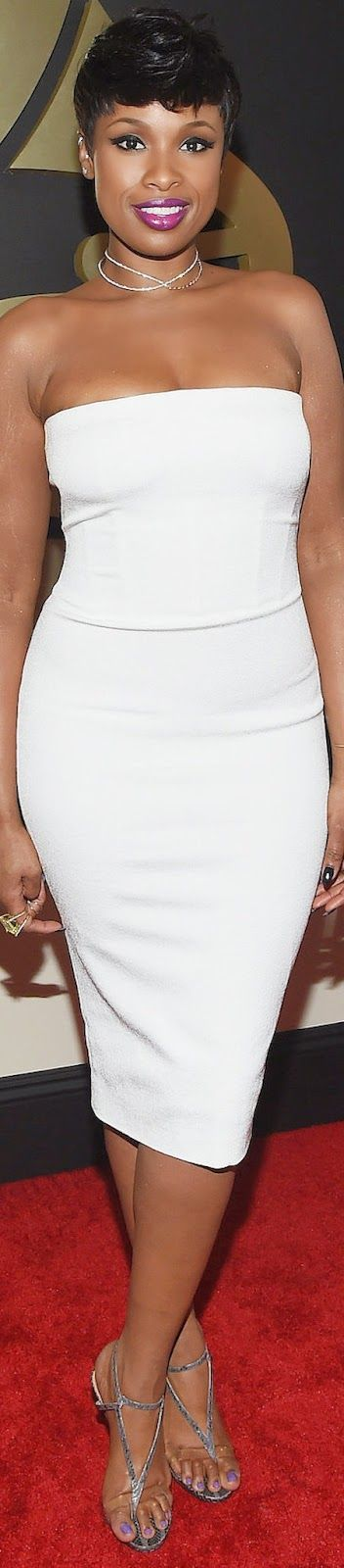 LOOKandLOVEwithLOLO: Jennifer Hudson 2015 Grammy Red Carpet Fashion
