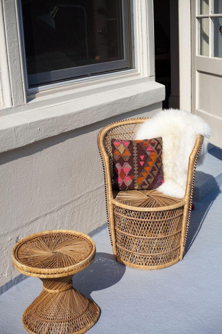 Des meubles en rotin pour embellir l'espace extérieur et intérieur dans 34 idées géniales! # …   – afric'art