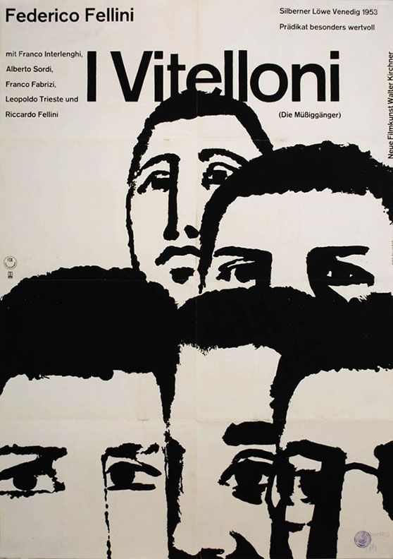 """Movie Poster of the Week: """"Shadows"""" and the Posters of Hans Hillmann on Notebook   MUBI"""