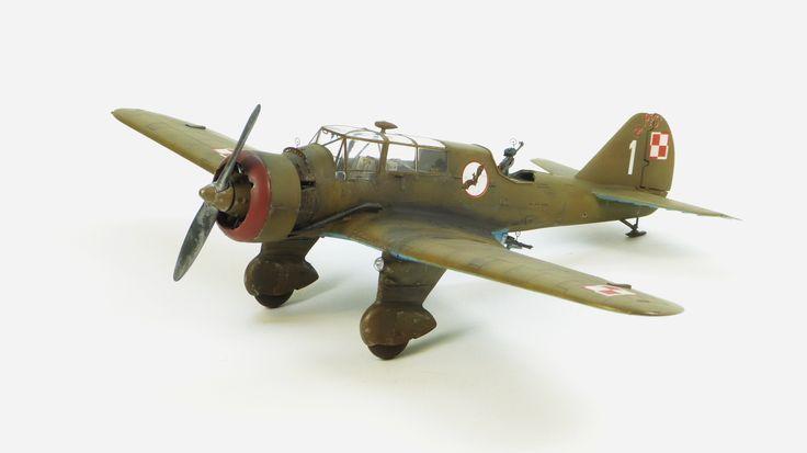 Mirage Hobby PZL-23B Karaś
