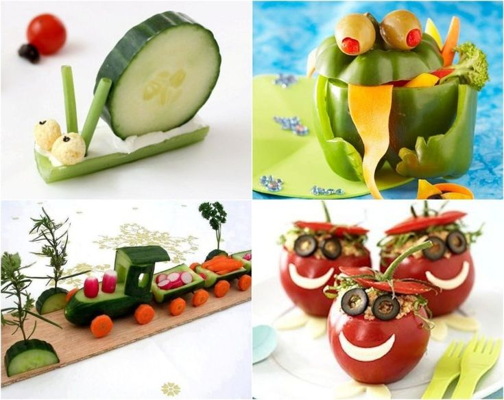 45 id es repas sant et amusant de l gumes pour les enfants buffet party buffet and fun food - Decoration legumes pour buffet ...