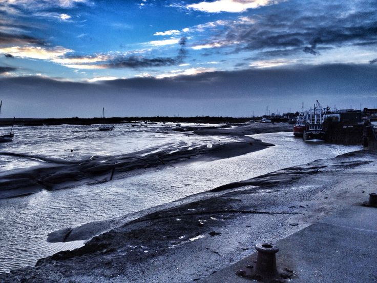 'Tides Out' #LeighOnSea #essex 8th Feb 2014