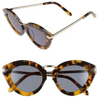 KAREN WALKER 'Lunar Flowerpatch' 49mm Sunglasses #sunglasses #womens #summer