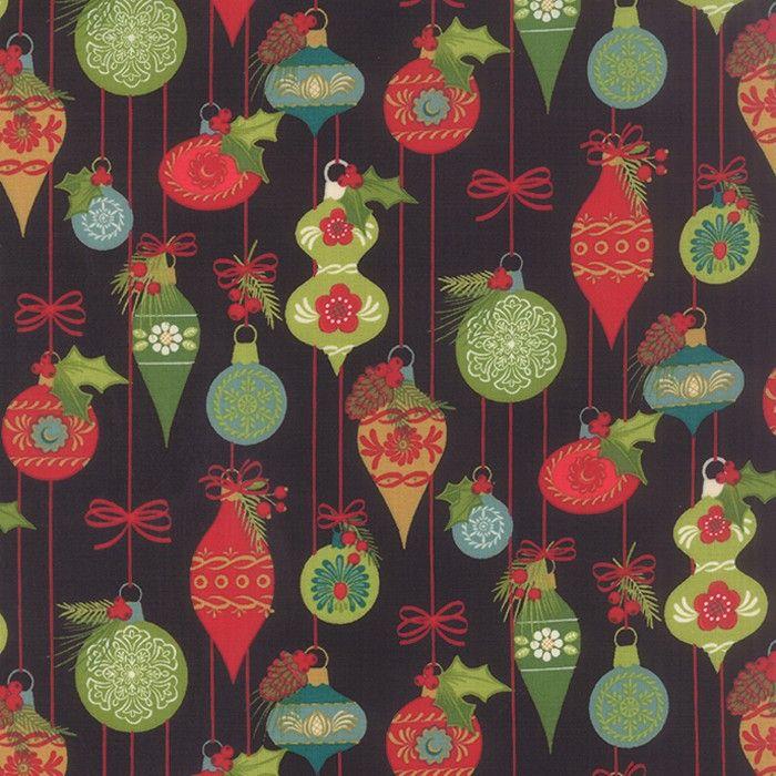 Moda Tole Christmas Christmas Ornaments Midnight