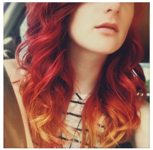 Red and blonde hair color ideas ombre trendy hairstyles in the usa red and blonde hair color ideas ombre urmus Images