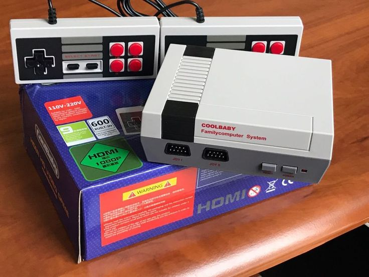 Classic Family Video Console NES Console HDMI Built-in Over 600 Retro Games NEW #UnbrandedGeneric