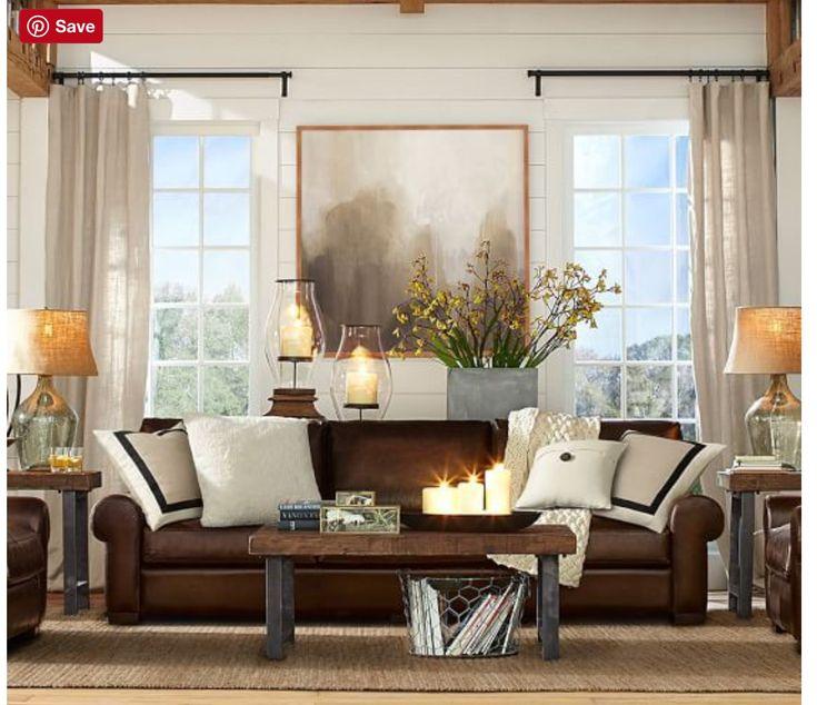 Die besten 25+ Braunes schlafsofa aus leder Ideen auf Pinterest - wohnzimmer mit brauner couch