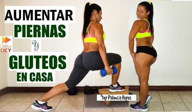 PIERNAS PERFECTAS Y GLUTEOS MAS GRANDES EN CASA
