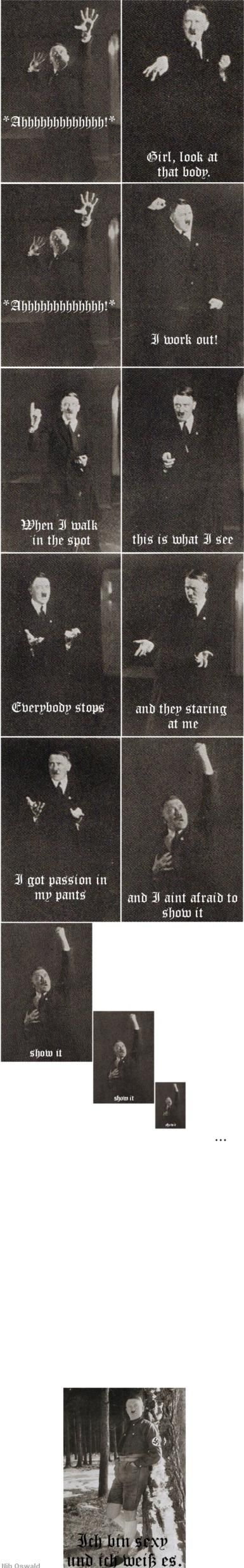 Previously unseen photos of Adolf Hitler released...