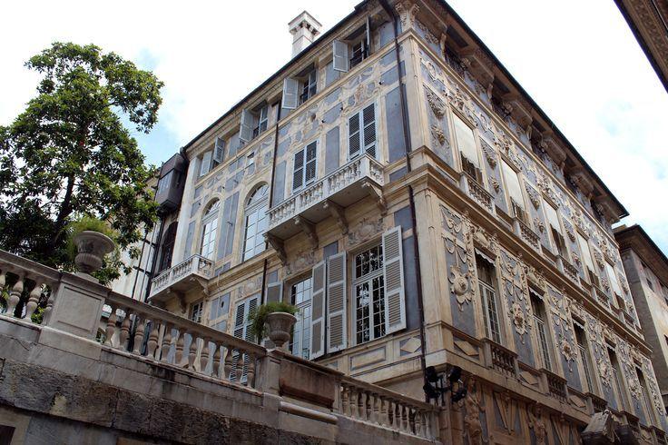 Palazzo Lomellino via Garibaldi, Genova