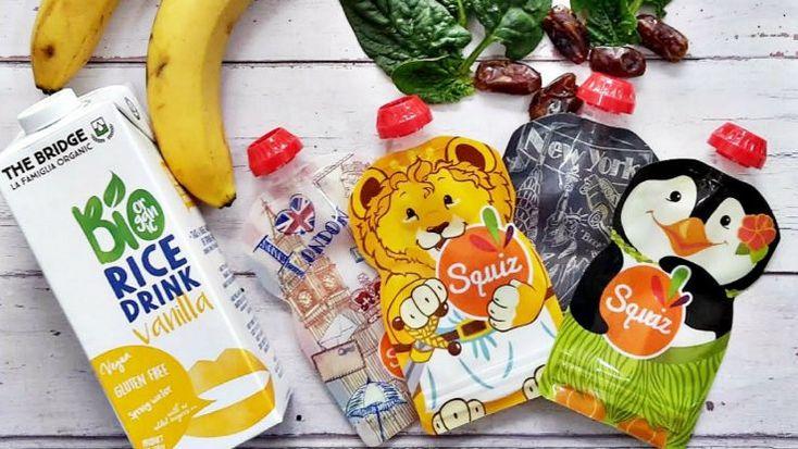 Tasakos tízórai receptek - SQUIZ #táplálkozás #életmód #egészséges #bébiétel #hozzátáplálás #squiz #ételtasak #recept #smoothie