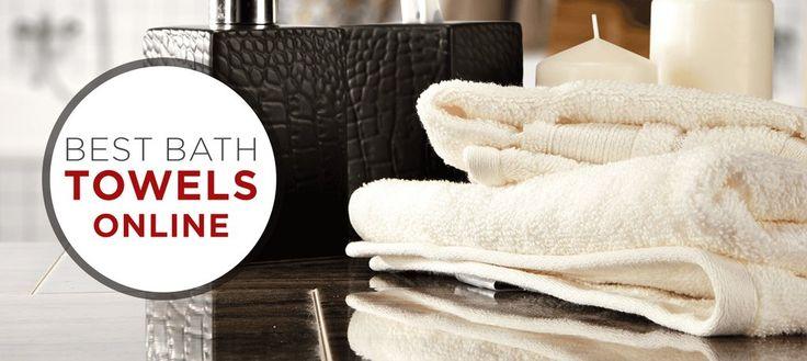 Shop Best Bath Towels Online #BestBathTowel #Towels #BathroomTowels #BathSheets #BathLinen #BathroomTowels #HereIsMostFavoriteTowels #LuxuriousTowels